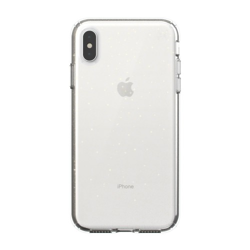 Калъф Speck iPhone XS Max PRESIDIO CLEAR + GLITTER - GOLD GLITTER/CLEAR
