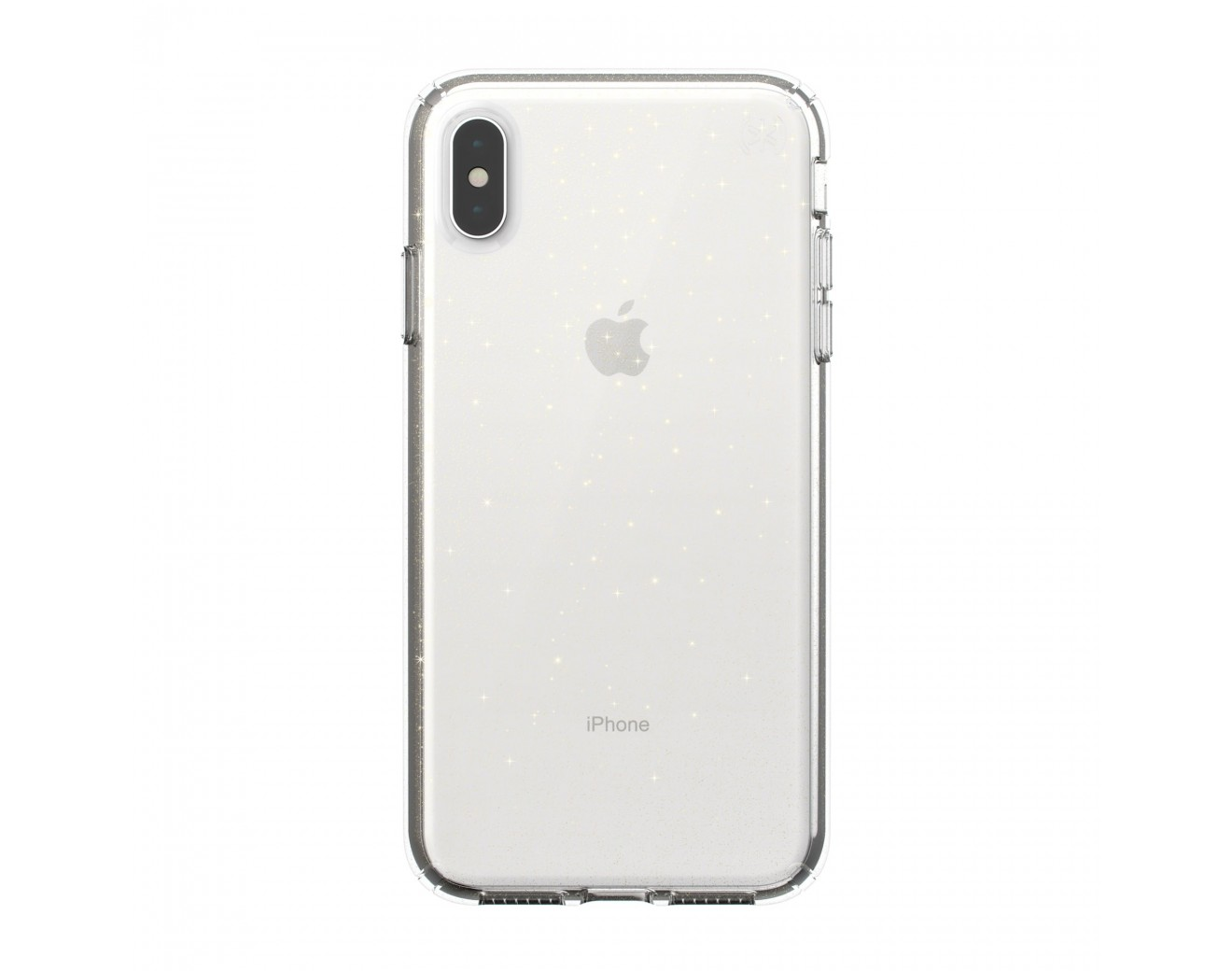 Калъф Speck iPhone XS Max PRESIDIO CLEAR + GLITTER - GOLD