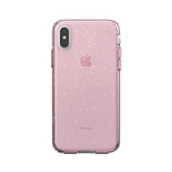 Калъф Presidio Clear + Print iPhone XS / X Cases - Bella Pink