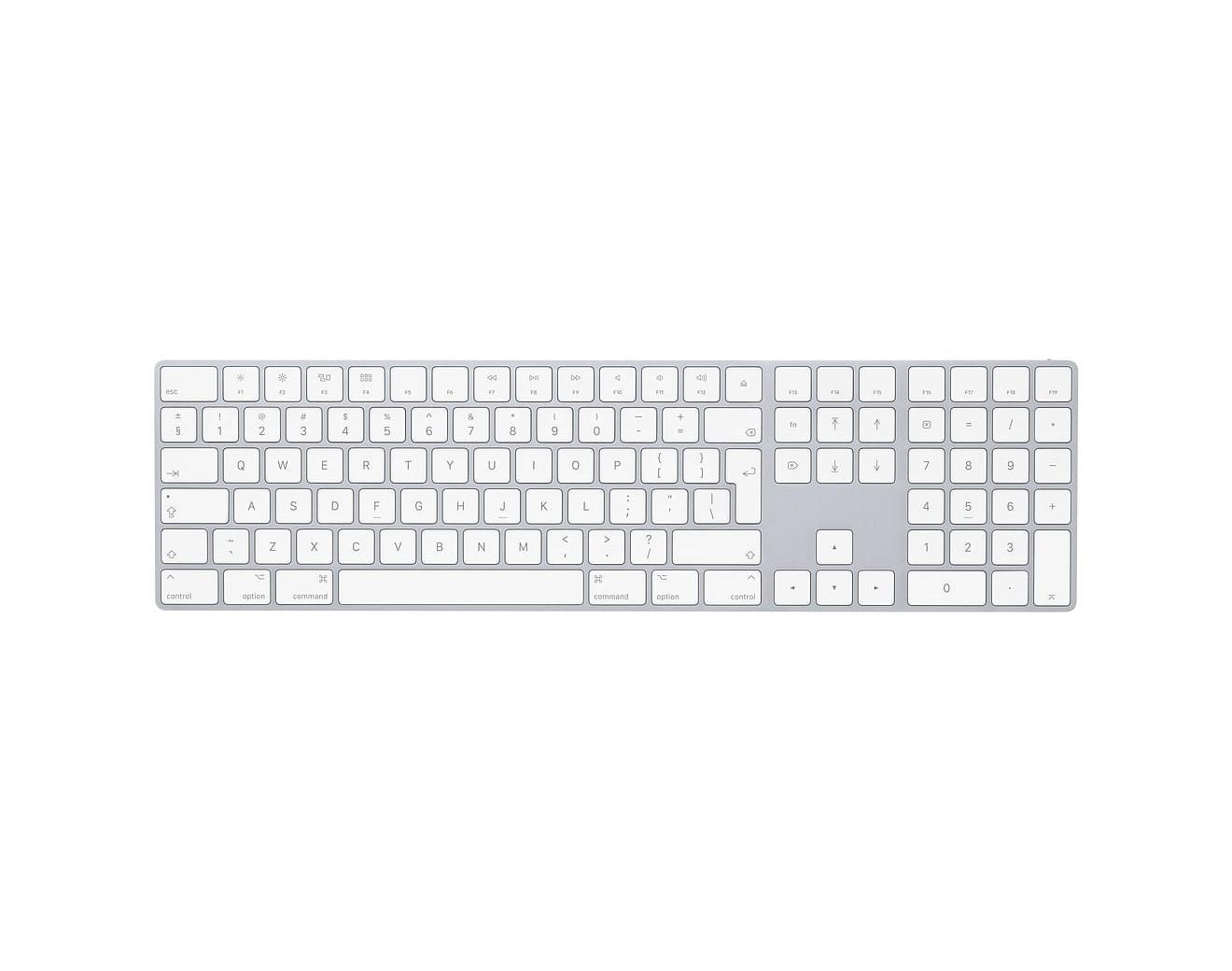 Apple Bluetooth клавиатура Magic Кeyboard с Numpad клавиши -