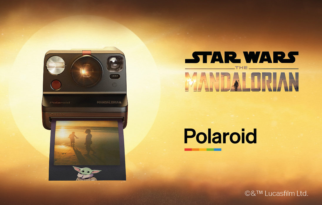 Polaroid Mandalorian Star Wars