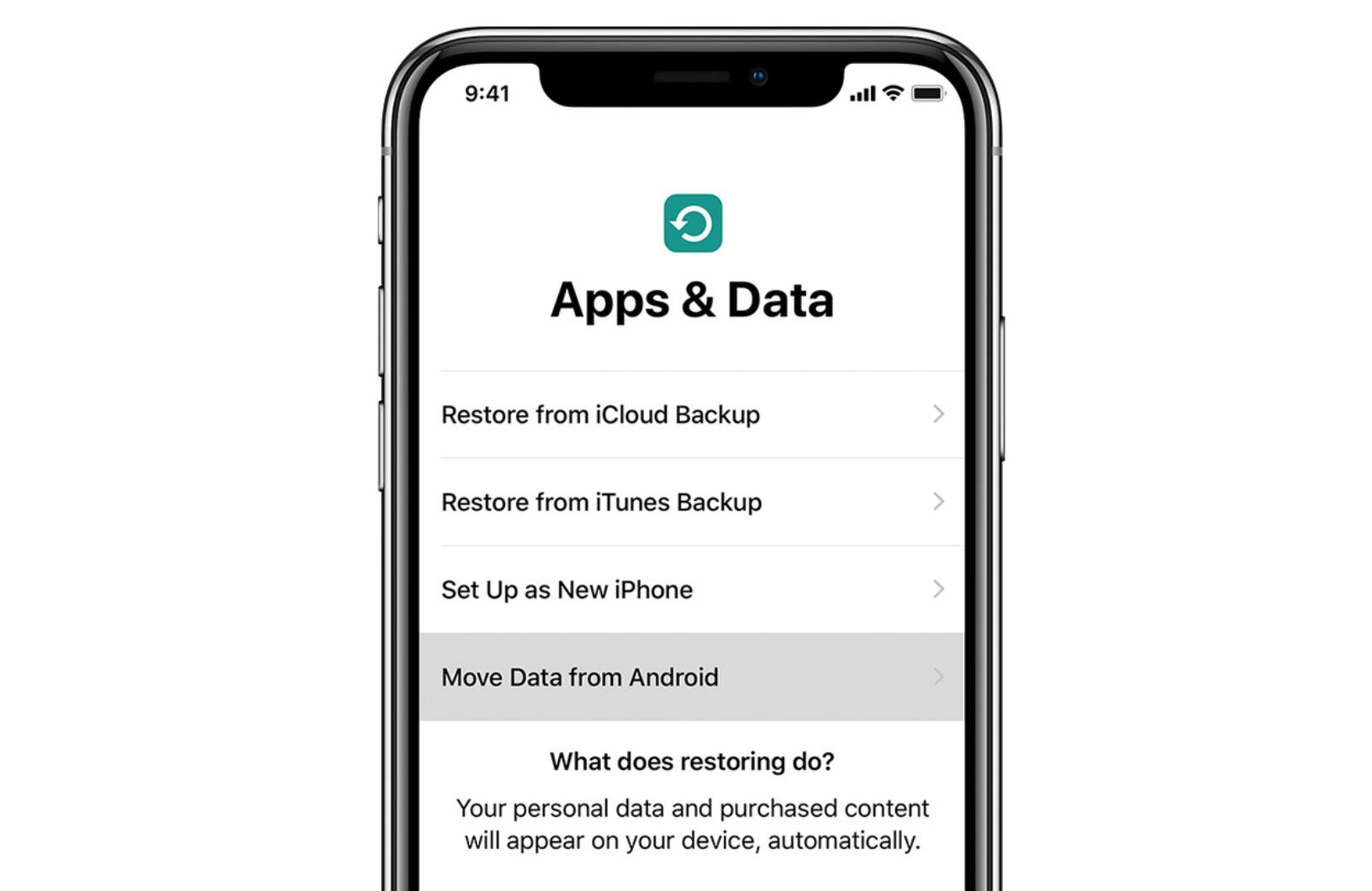 Прехвърляне на данни и контакти от Android на iPhone